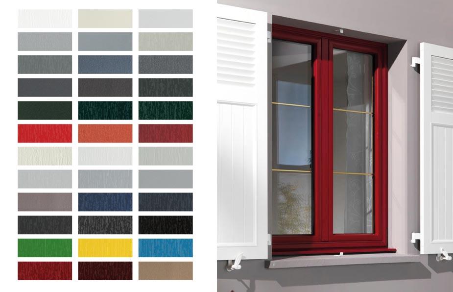 fenetre PVC couleurs - Fenêtres PVC