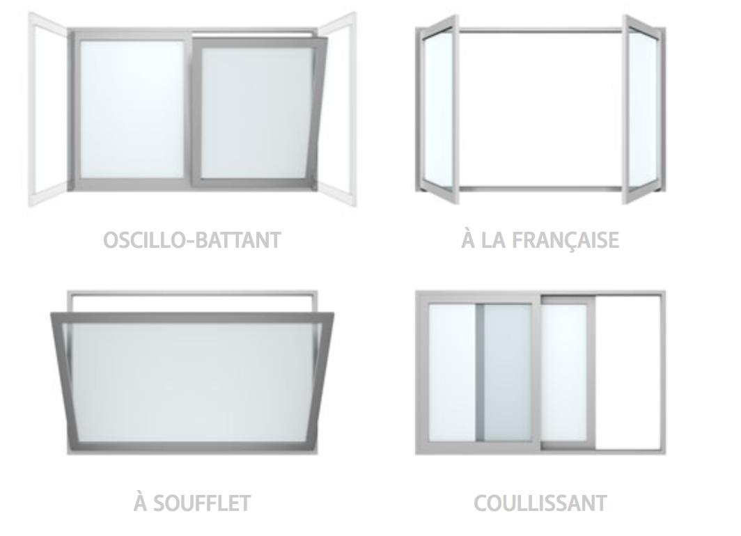 ouvertures - Fenêtres PVC