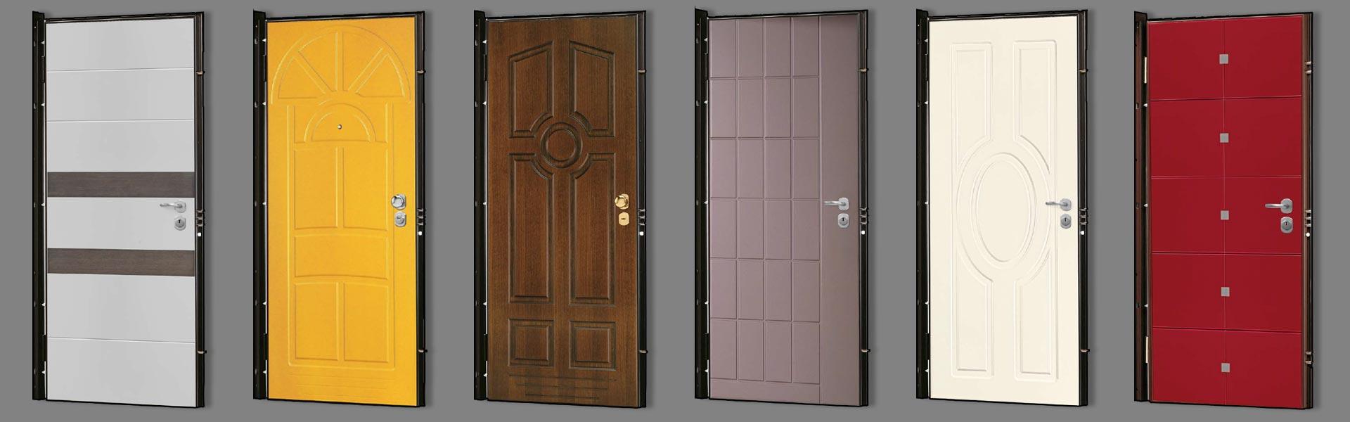 Portes blindées modeles