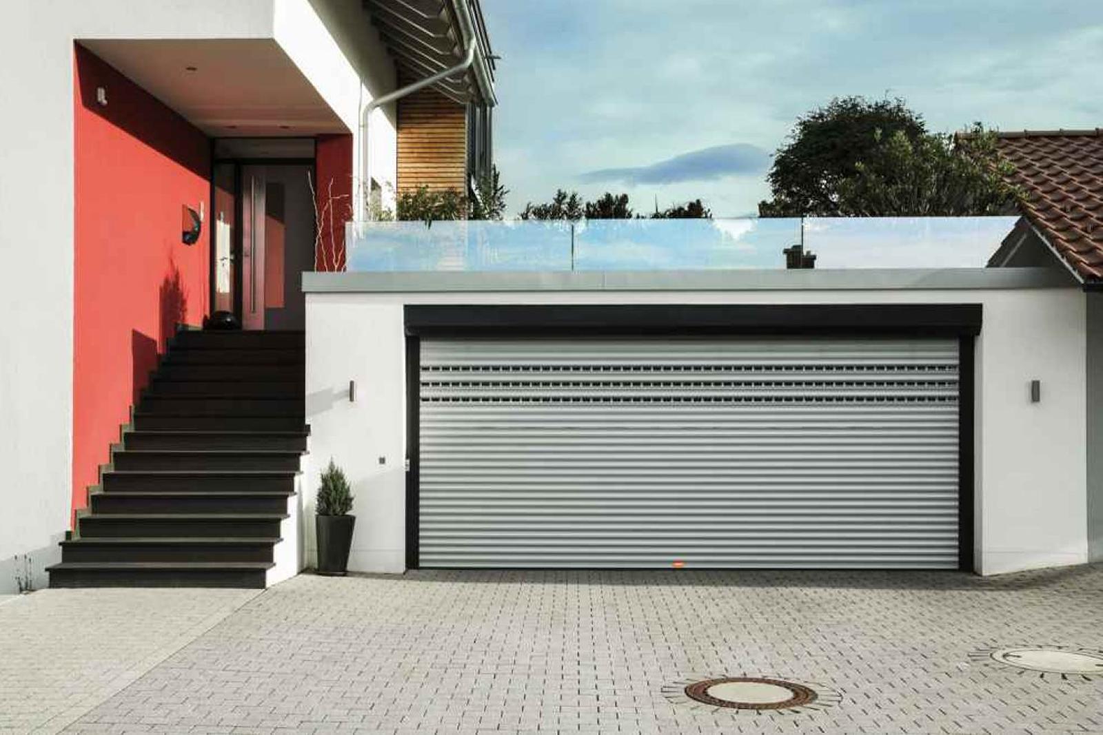 porte de garage enroulable lyon2 - Portes de garage