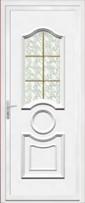 1 - Portes d'entrée PVC