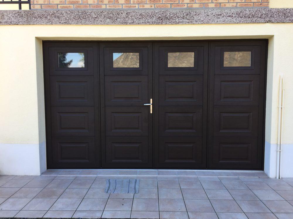 Porte de garage battante  - Portes de garage battantes