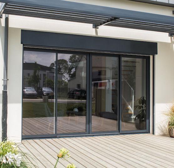 baie vitree coulissante aluminium novaltuce 010971408 product maxi - Baies vitrées