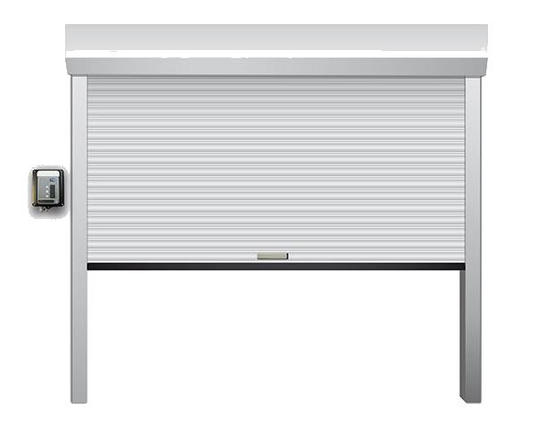 enroullable 1 - Portes de garage enroulable