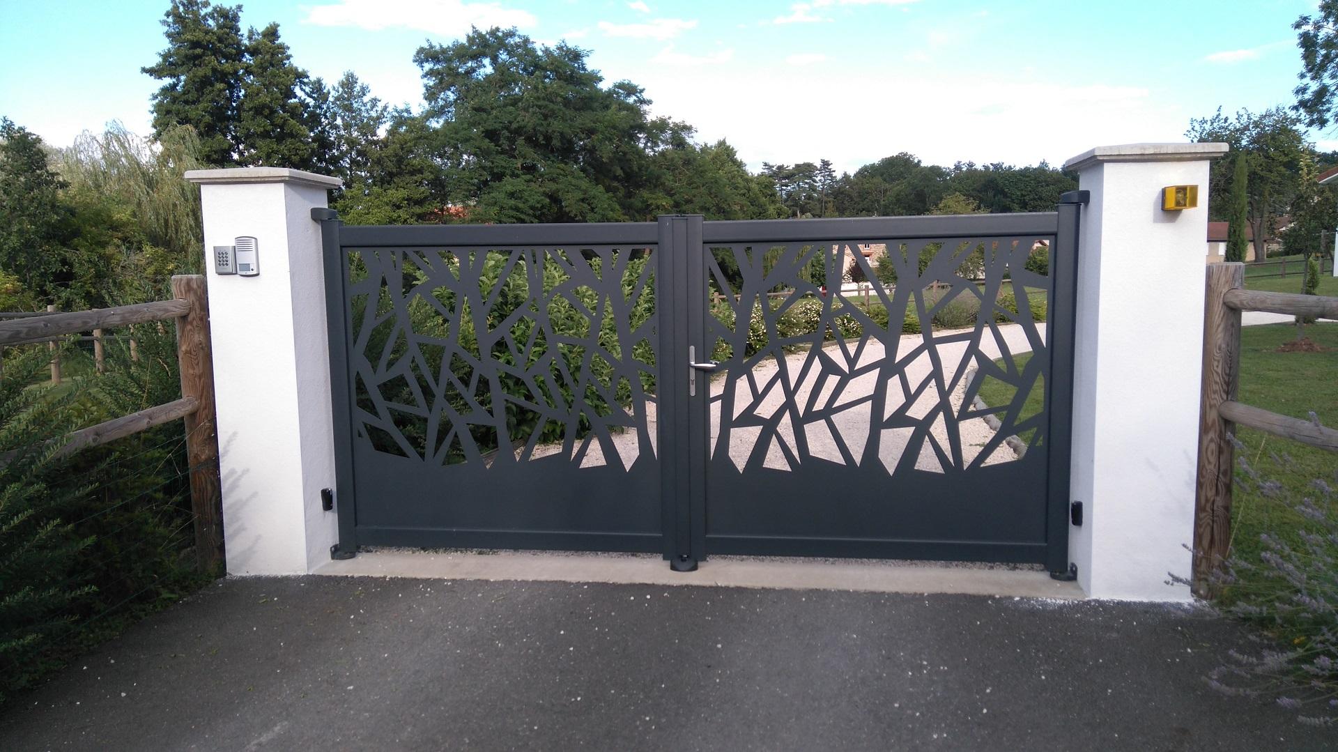 ori portail aluminium battant echire 2128 4355 - Portails battants