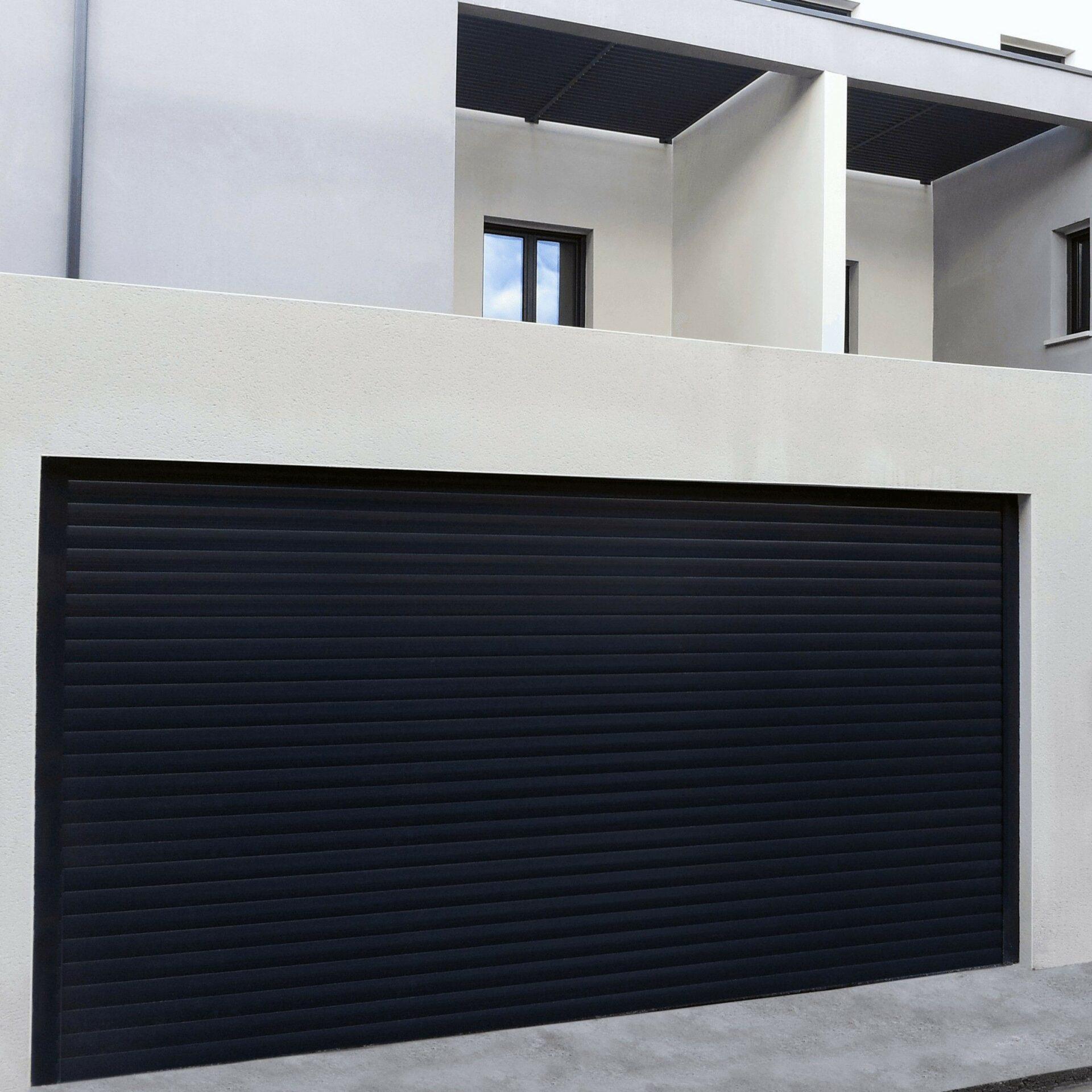 porte de garage enroulable aluminium - Portes de garage Sectionnelles