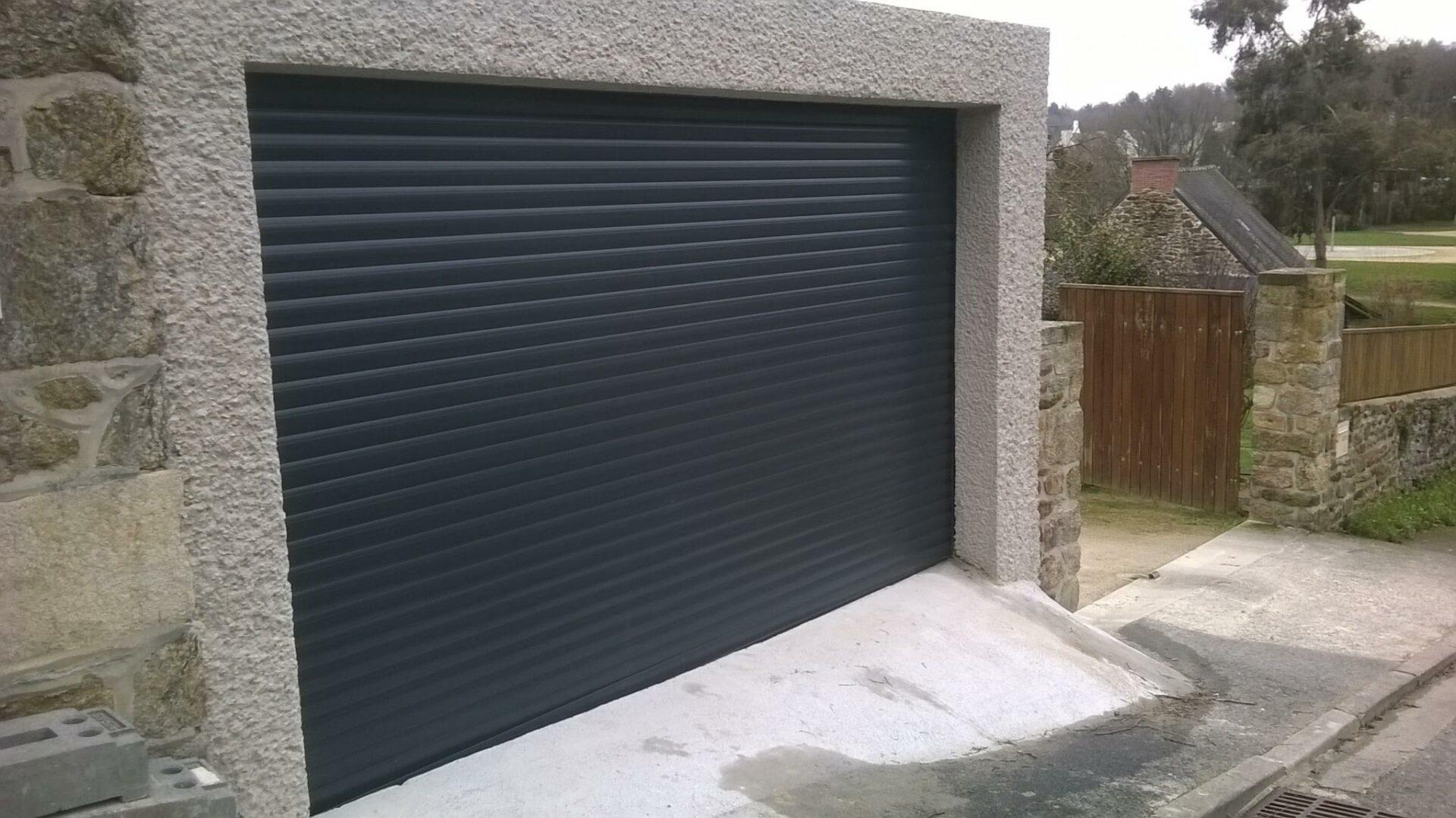 porte garage enroulable - Portes de garage enroulable